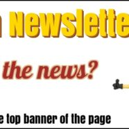 March 20th Newsletter – Did you read it?