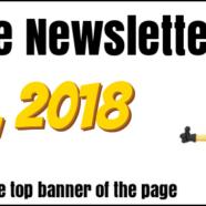 Newsletter for June 20, 2018