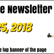 Fall 2018 Newsletter is out!