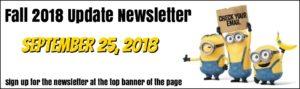 Fall 2018 Newsletter - Zumba Lizy - Zumba Classes Victoria BC
