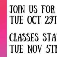 Strong30 with Krista starts Nov 5 – Demo on Oct 29th