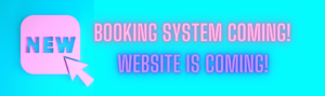 New booking system and website coming soon